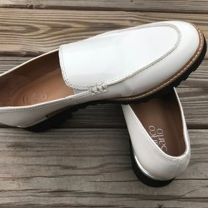 Franco Sarto Cypress Women Loafer White Shoes